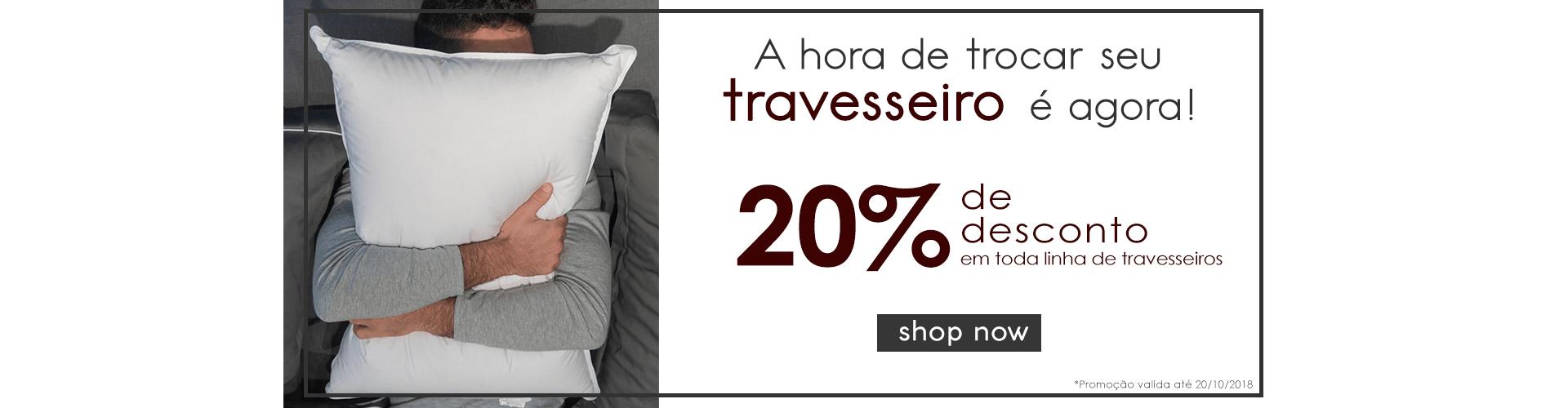 20%off Travesseiro